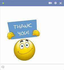 Animated Smiley Faces Saying Thank You