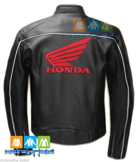 black motorbike jacket honda wing black motorbike motorcycle racing leather