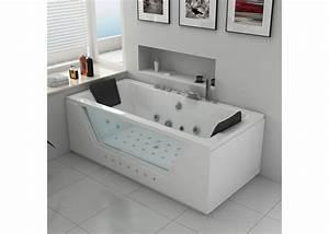 Baignoire 2 Places Balneo : baignoire baln o rectangulaire 2 places baignoire ~ Edinachiropracticcenter.com Idées de Décoration