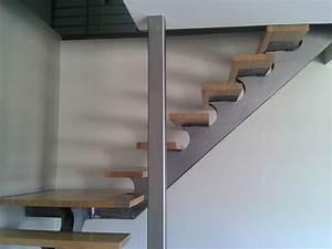 Escalier Bois Quart Tournant : escalier m tallique lyon escalier m tal villefranche ~ Farleysfitness.com Idées de Décoration