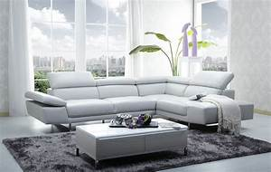 1717 italian leather modern sectional sofa With leather sectional sofa modern contemporary art deco 57
