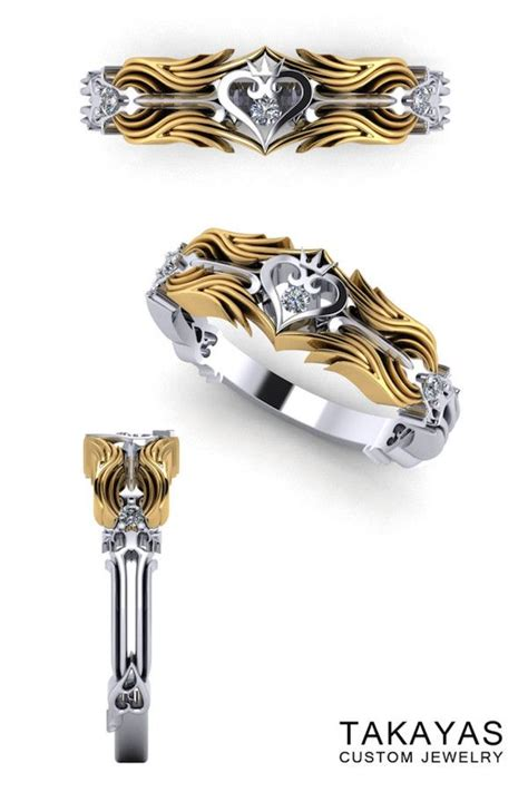 the kingdom hearts wedding ring collection nice nerdy