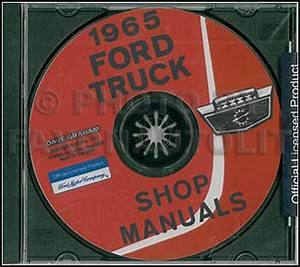 1965 Ford Truck Repair Shop Manual Original 3 Volume Set