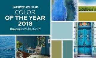 meet oceanside sherwin williams 2018 color year blue