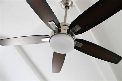 Living Room Hunter Ceiling Fans With White Fan Decor And