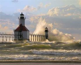 St. Joseph Lighthouse Lake Michigan