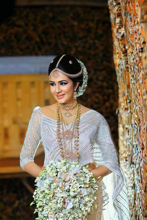 pin  kandyan brides
