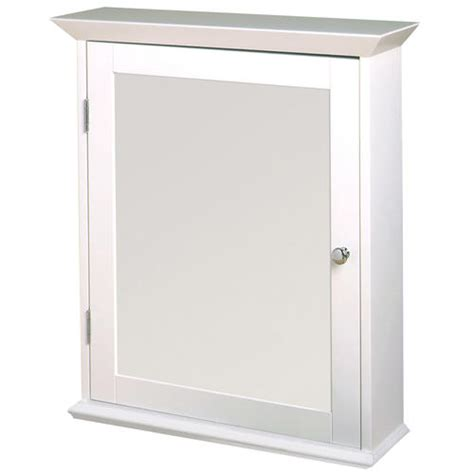 zenith wood swing door medicine cabinet white at menards 174