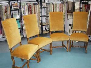 Chaise Louis Xiii : chaises louis xiii marc accary tapisserie d coration ~ Melissatoandfro.com Idées de Décoration