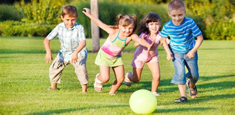 the importance of physical literacy related to mental 976 | children play with ball