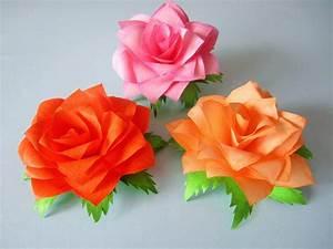 Blumen Aus Papier : rosen aus notizzettel demenz pinterest rose blumen basteln und basteln ~ Udekor.club Haus und Dekorationen