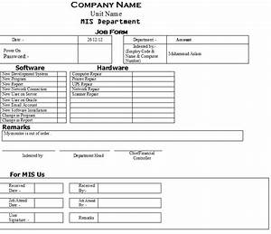 internal work order template bing images With internal work order template