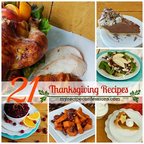 thanksgiving dinner recipes 21 thanksgiving dinner recipes my recipe confessions