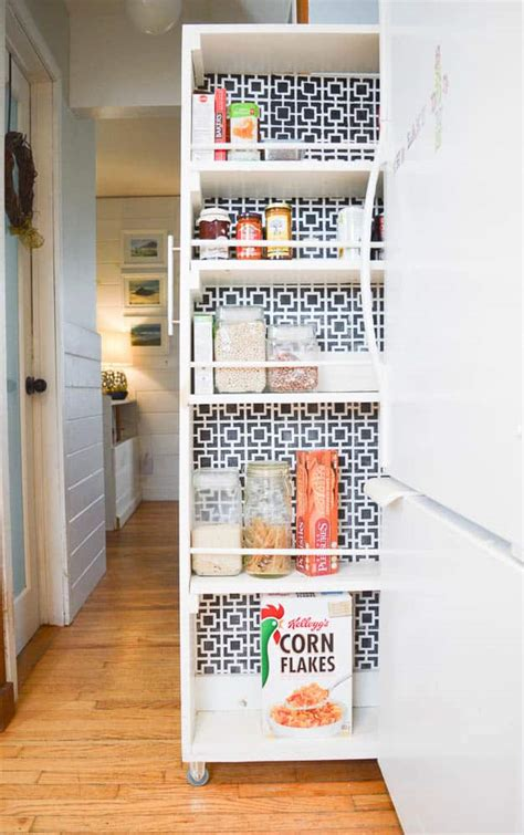 How To Make A Pantry Out Of A Bookcase by How To Build A Pull Out Pantry