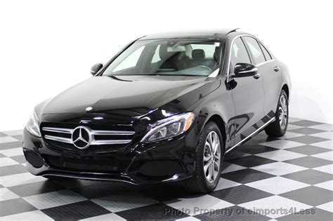 We analyze millions of used cars daily. 2015 Used Mercedes-Benz C-Class CERTIFIED C300 4Matic AWD Blind Spot PANO LED NAVI at ...