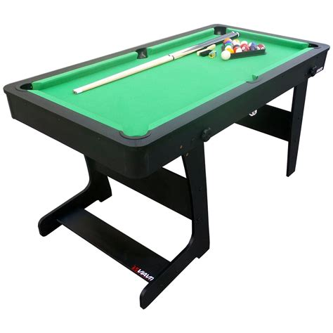 10 ft pool table viavito pt100x 5ft folding pool table