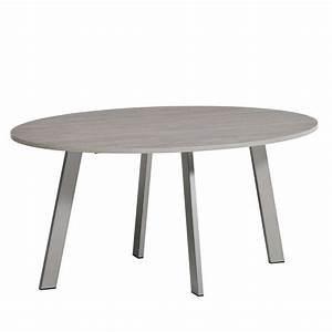 Table De Cuisine Ovale : table de cuisine ovale en stratifi elias 4 ~ Teatrodelosmanantiales.com Idées de Décoration