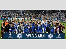 Chelsea Champions League Winners 2012 Pictures From The