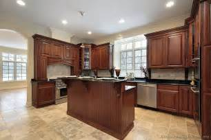 kitchen island cherry wood traditional kitchen cabinets photos design ideas