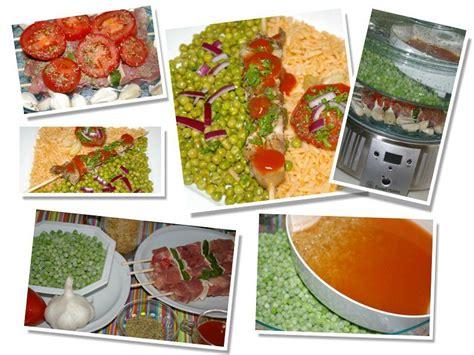 cuire des pates au cuiseur vapeur brochettes de dinde l 233 gumes riz au cuit vapeur 233 quilibr 233 e color 233 e ma cuisine cr 233 ative