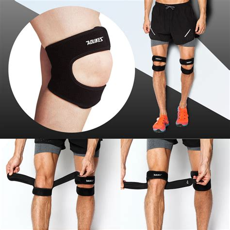 knee patella compression support strap brace jumper runner
