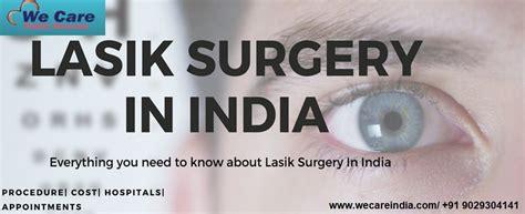 average cost  lasik surgery  india