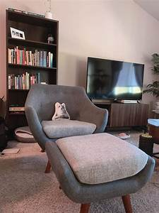 I, U2019ve, Been, On, The, Prowl, For, A, Reading, Nook, Chair, And, Finally, Found, The, Perfect, Chair, Ottoman