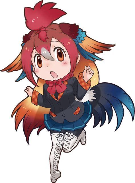 red junglefowl japari library  kemono friends wiki