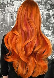 Copper Red Hair Color