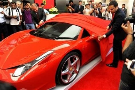 To reduce wind turbulence inside the cabin, the ferrari portofino gets a new wind deflector which cuts air flow inside the cabin by 30 per cent and also reduces wind noise. Ferrari Launches in India, Eyeing Growing Super-Rich — Naharnet