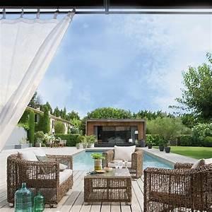 diviser une terrasse en deux espaces nos idees deco With photo deco terrasse exterieur 17 decoration cuisine simple