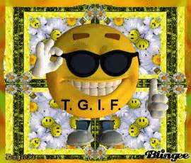 Happy Friday Smiley-Face TGIF