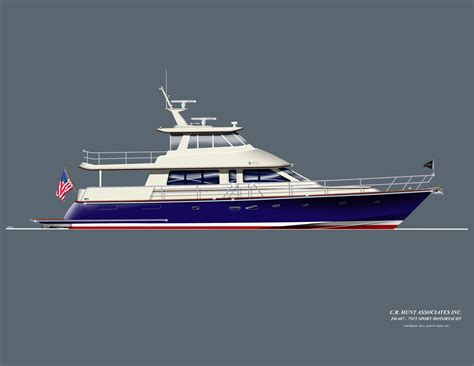 Yacht Work by Hunt Yachts Working On Its Flagship Hunt 80 Sport