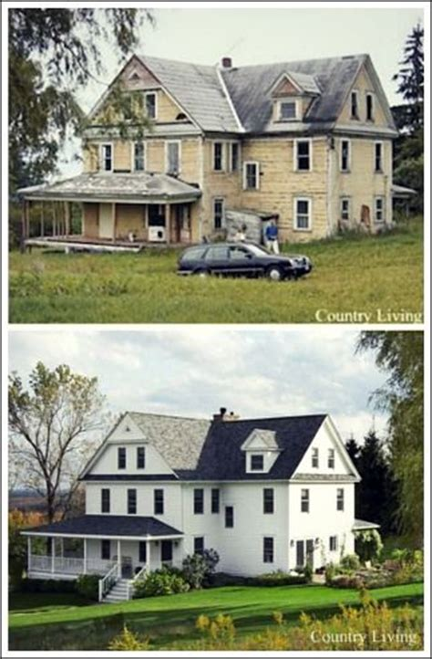before and after farmhouse renovations 20 home exterior makeover before and after ideas home stories a to z