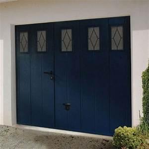 lapeyre les portes de garage 10 photos With porte de garage avec portes interieures coulissantes