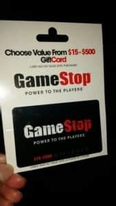 Maybe you would like to learn more about one of these? GameStop gift card balance check