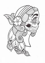 Gypsy Coloring Tattoo Deviantart Pages Dead Template Deviant Templates Th Journals Chat Groups Portfolio sketch template