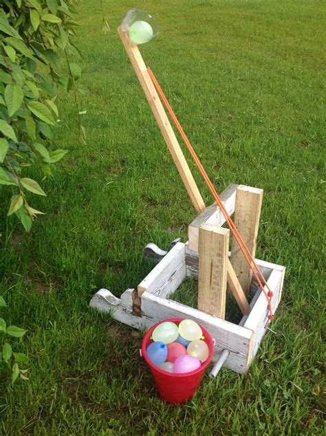how to build a water balloon catapult woodworking