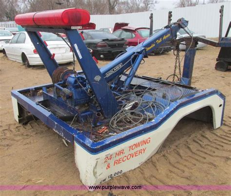 tractor supply beds tow truck bed no reserve auction on wednesday april 30