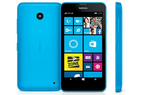 nokia lumia 635 8gb windows smartphone for cricket wireless blue mint condition used cell