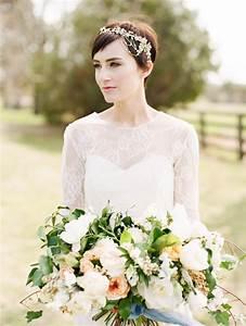 Couronne Fleur Cheveux Mariage : coiffure mariage cheveux court couronne fleur couplesretirementpuzzle ~ Melissatoandfro.com Idées de Décoration
