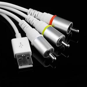 Usb Tv Rca Video Composite Av Cable To Ipod Adapter For