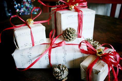 Diy Sheet Music Christmas/ Holiday Gift Wrap