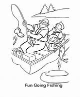 Fishing Coloring Pages Sheets Scout Going Boat Activity Fun Printable Camping Camp Gone Boy Adult Drawing Bestcoloringpagesforkids Bluebonkers Cub Activities sketch template