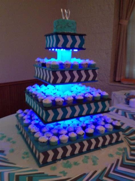 cupcake stand glow sticks  christmas recipies
