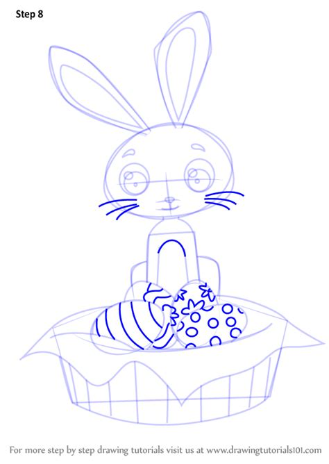 learn   draw  easter bunny easter step  step