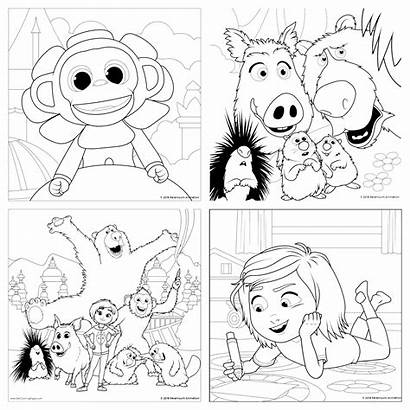 Wonder Coloring Park Pages Colouring Activity Thereviewwire