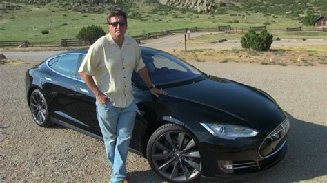 2013 Tesla Model S P85 Quick Take 0-60 Mph Review