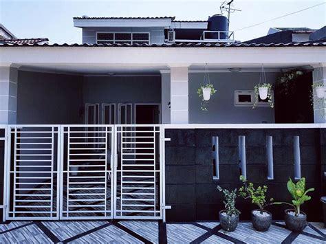 bikin takjub desain cerdas rumah  lantai  lahan