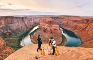 s wedding dress magical elopement at horseshoe bend justin